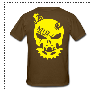 MTB von Berg Bone Head T-Shirt Gents